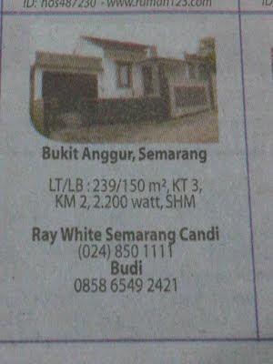 perumahan murah di surabaya on ... di Bukit Anggur Semarang ini diambil dari iklan jual rumah dijual di