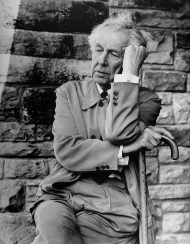 frank lloyd wright photos of an american genius and his works vintage everyday. Black Bedroom Furniture Sets. Home Design Ideas