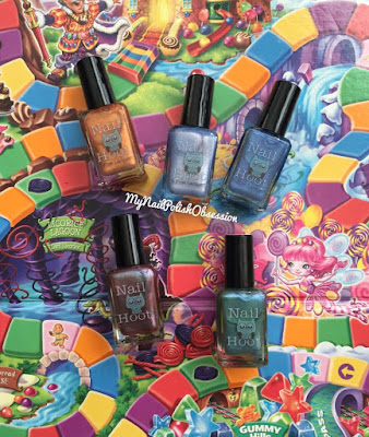 Nail Hoot Candy Land Collection