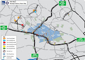 Two maps on 'Park Royal Partnership' web site