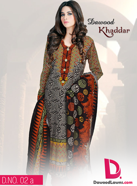 Dawood Khaddar Winter Collection 2015