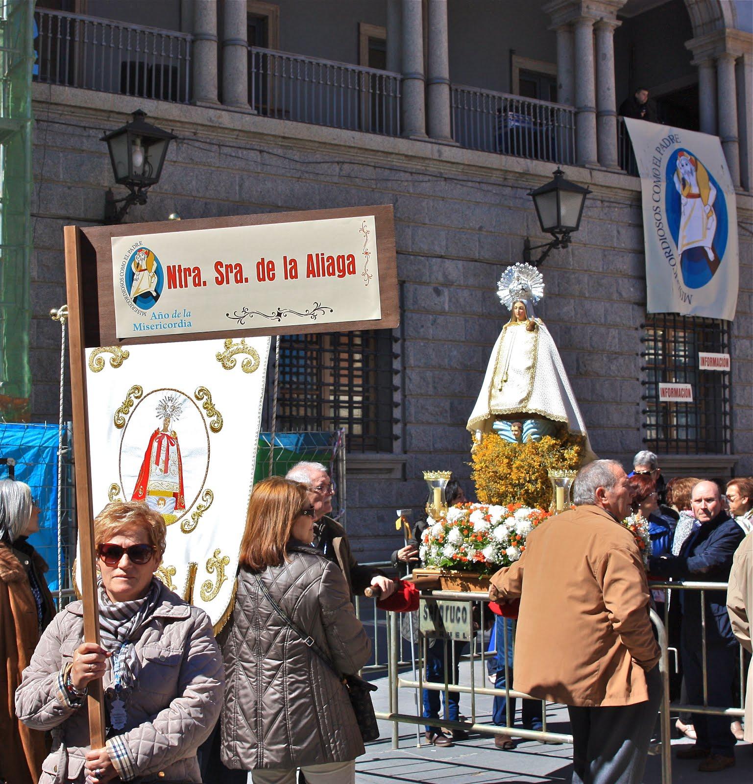 Fotogaleria: La Virgen de la Aliaga en el Encuentro Diocesano de la Misericordia. Teruel 2016