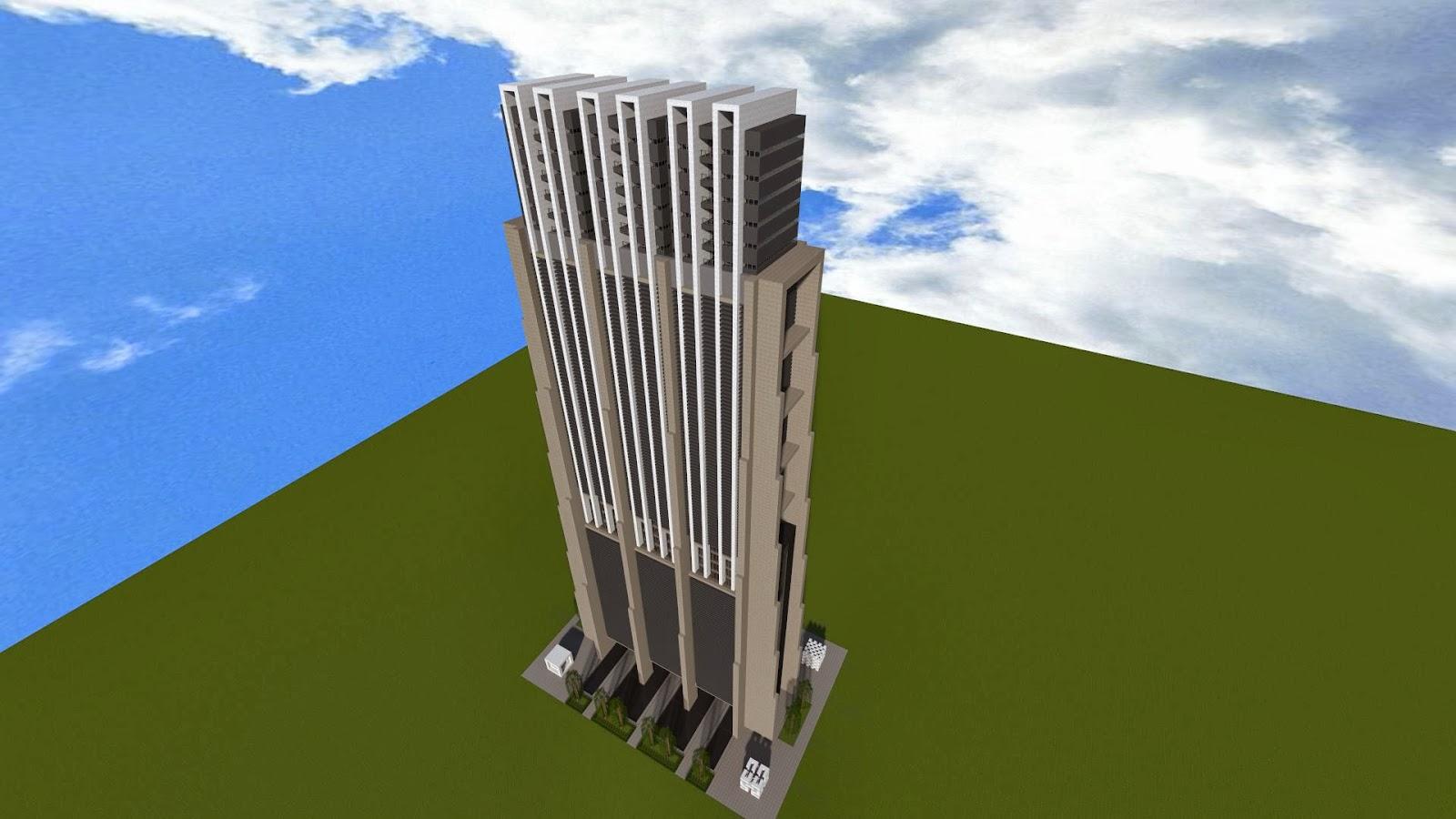 Seviat city - Minecraft hochhaus ...