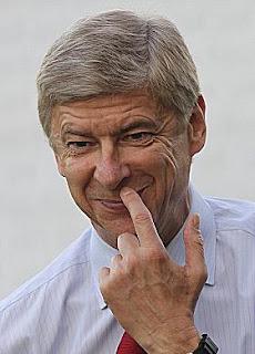 Arsene Wenger Smiling