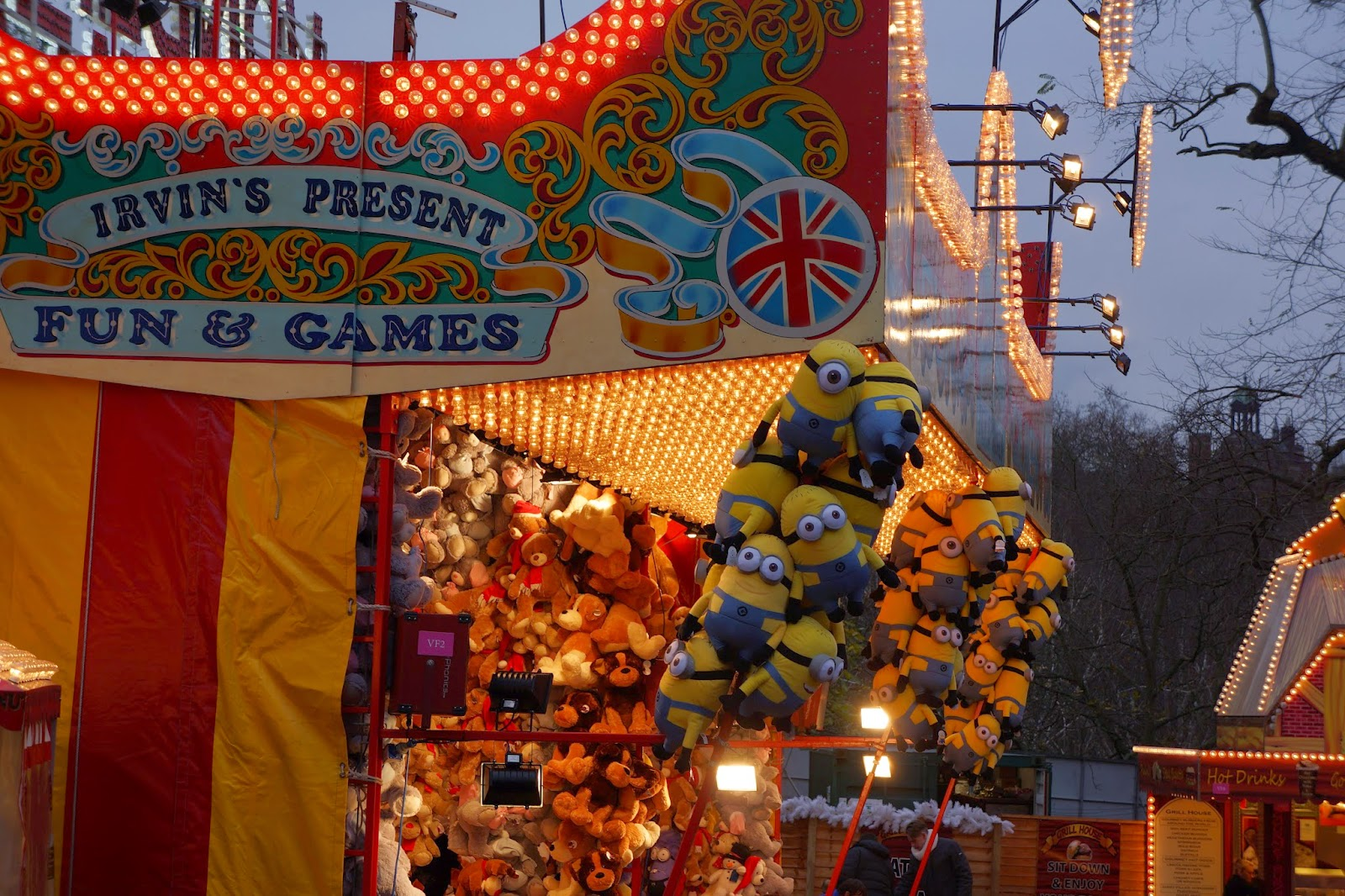 hyde park winter wonderland games