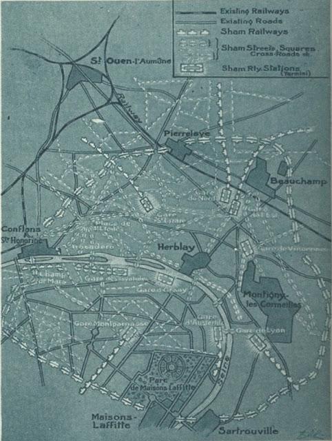 El falso París construido durante la guerra