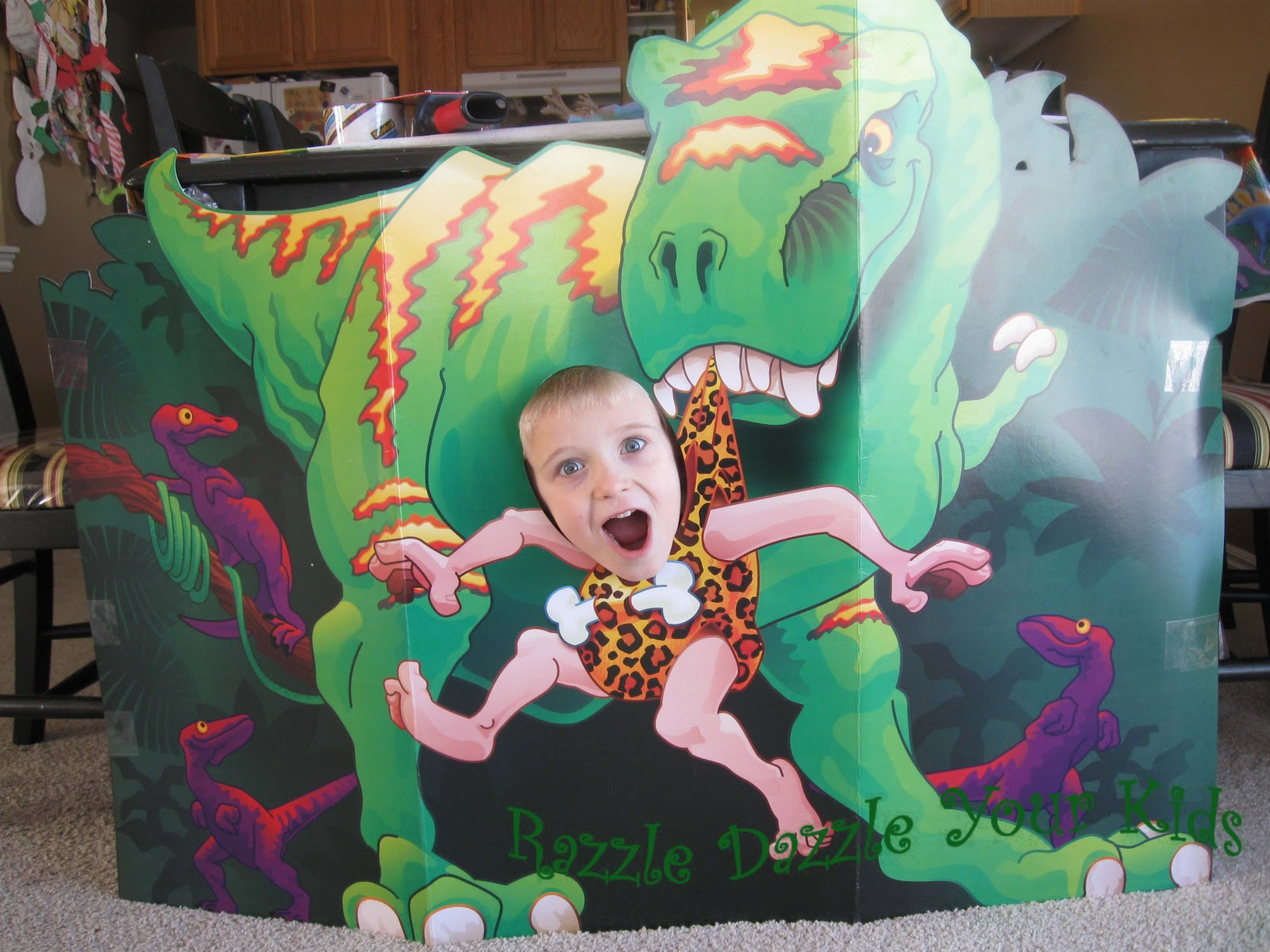 Razzle Dazzle Your Kids Dinosaur Birthday Party 6 years old