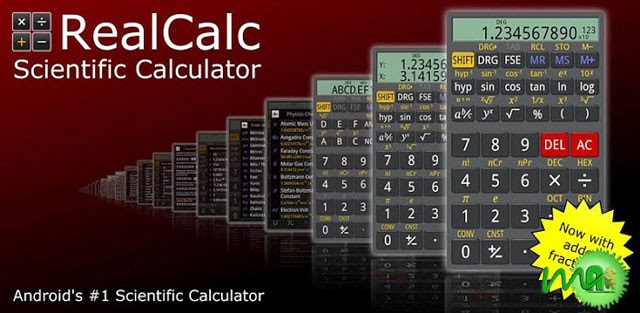 More RealCalc 1.7.4 APK Free Download
