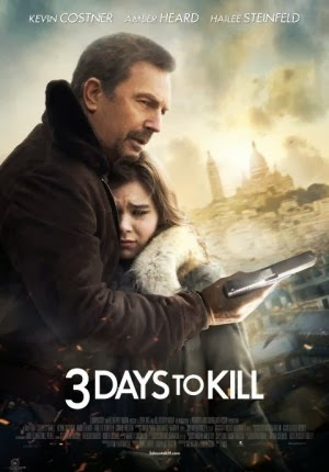 Download Film 3 DAYS TO KILL (2014) HD, BluRay