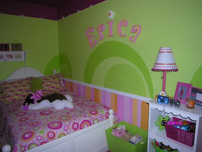 Home decorations girls bedroom painting ideas teen Teenage room paint ideas