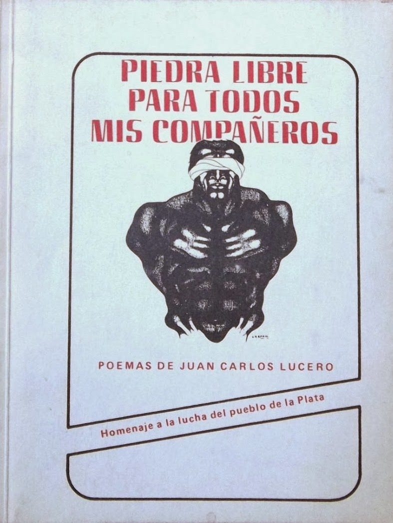 Primer antología poética, publicada aún con el seudónimo autoral utilizado durante la dictadura