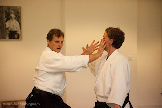 Marc Bachraty Sensei at the innauguration of the Berlin School of Aikido
