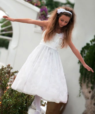 petit girl wedding dress