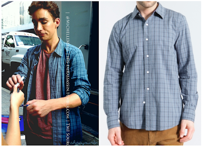 The Mortal Instruments: City of Bones Simon's Plaid Shirt (Robert Sheehan)
