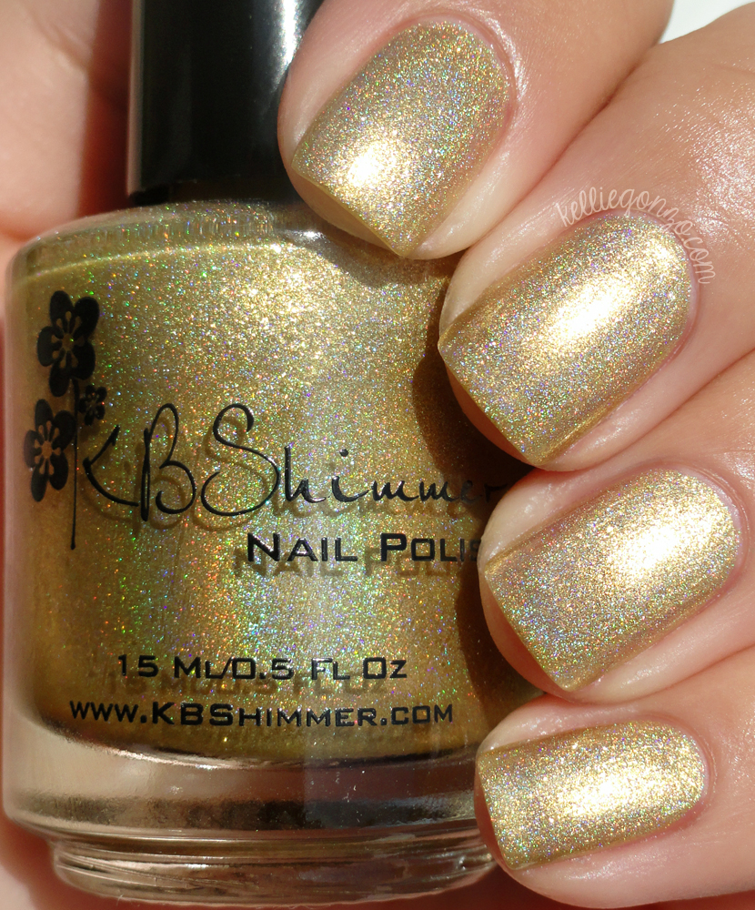 KBShimmer Goldie Rocks