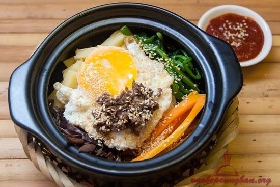 Cách làm cơm trộn Hàn Quốc dễ giền vô cùng đơn giản