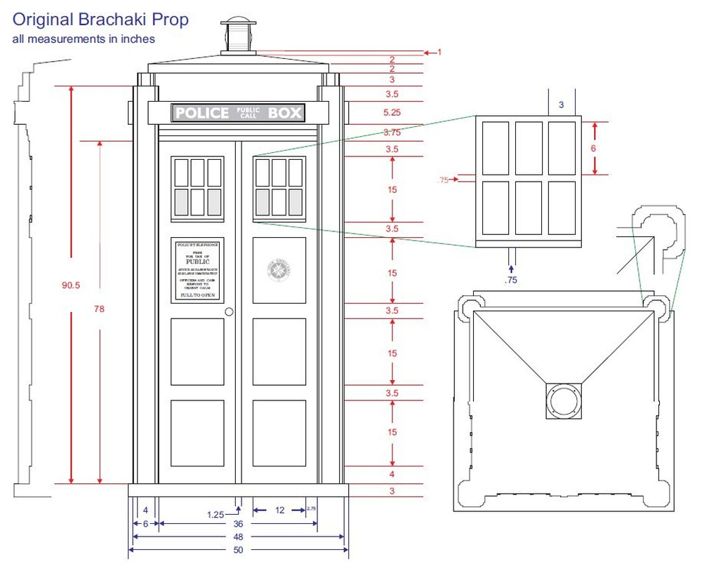 My untempered schism where 39 s the tardis for Design plan build
