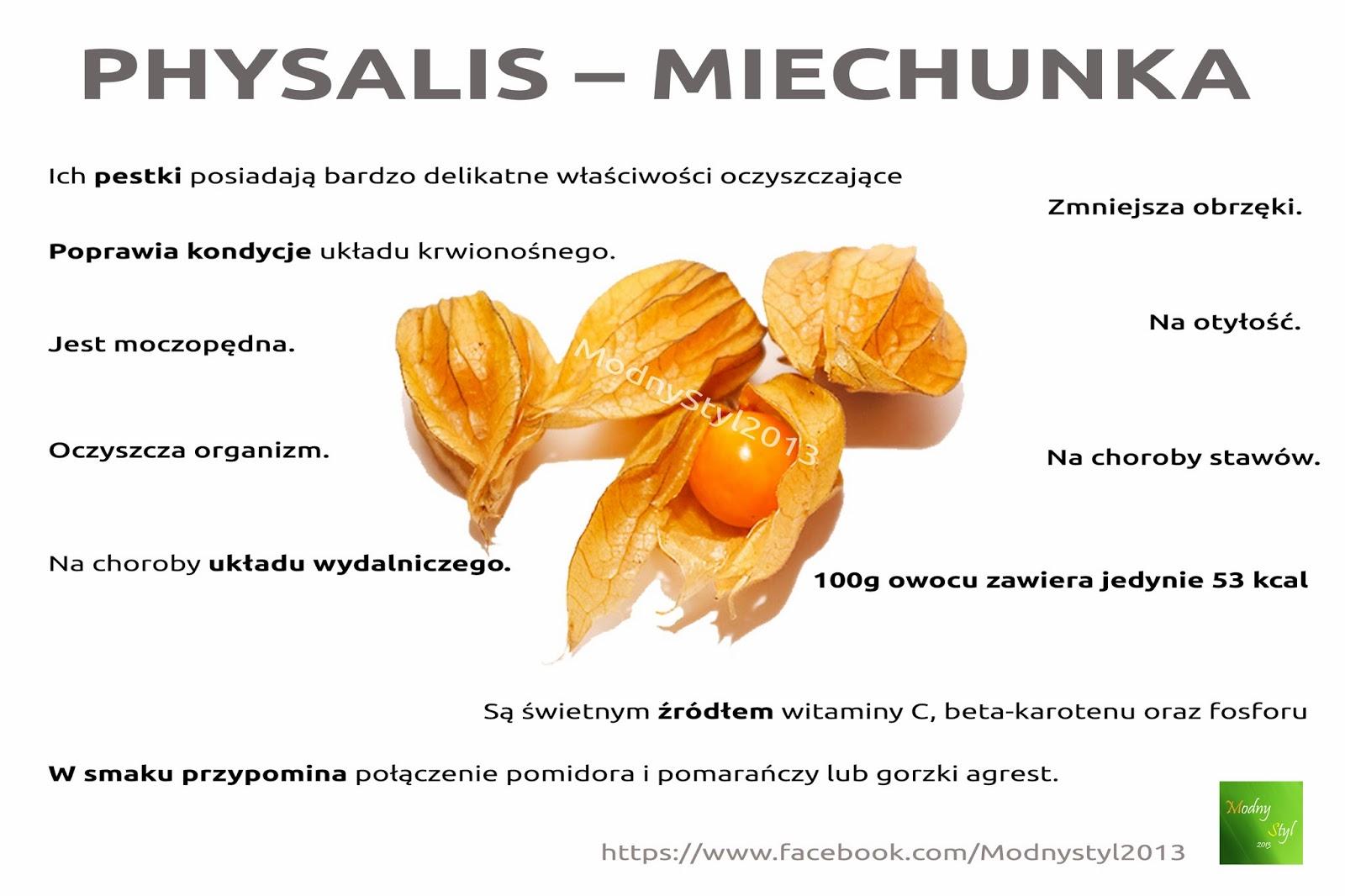 Physalis - miechunka