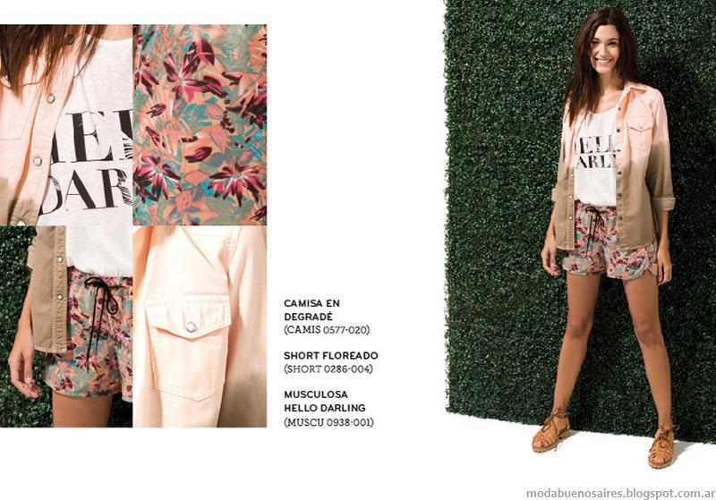 Shorts estampads Ver verano 2015.