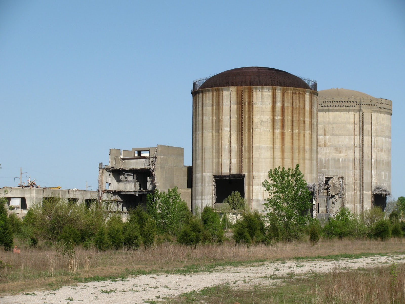 Eerie Indiana Abandoned Marble Hill Nuclear Power Plant