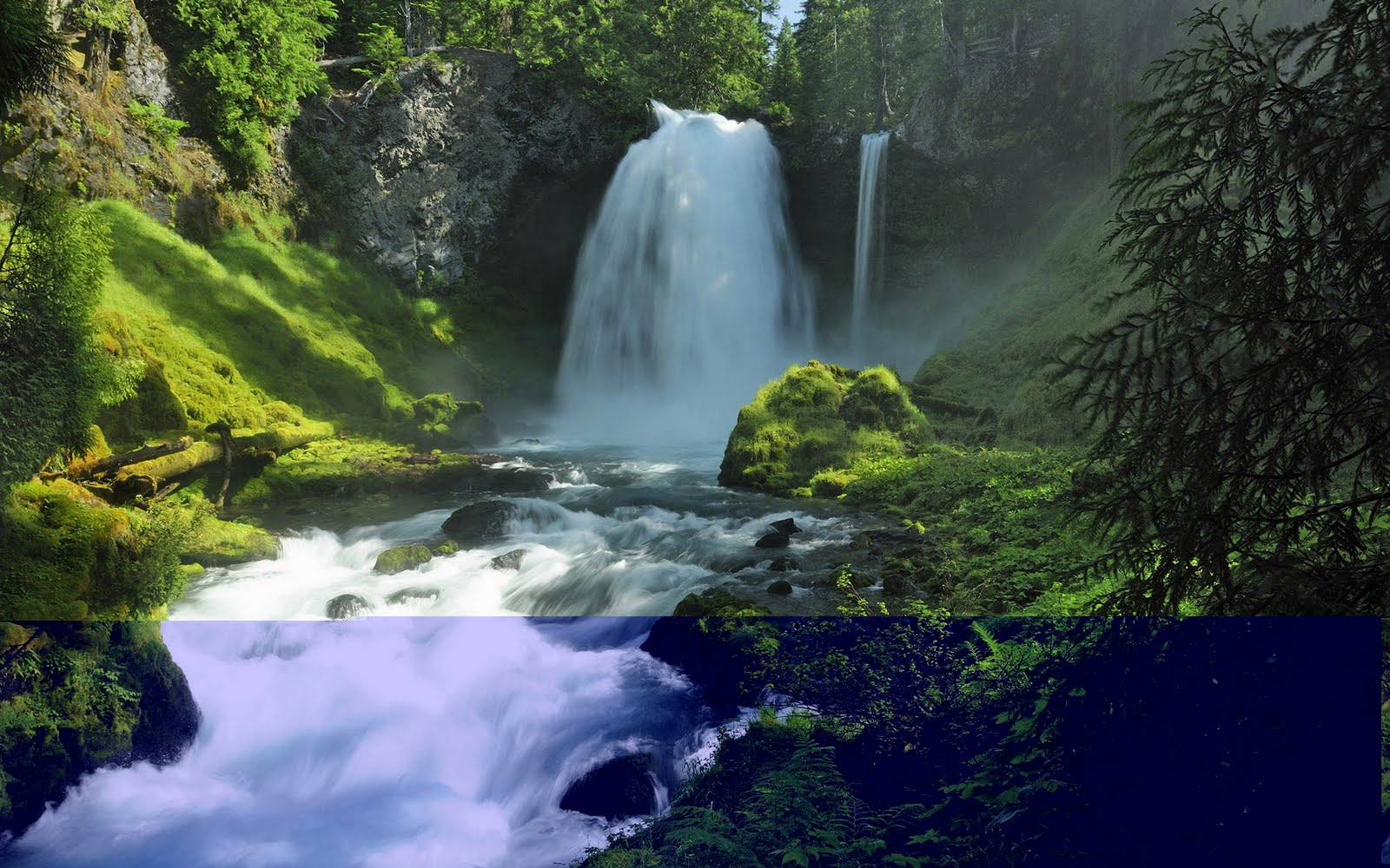 Wallpapers And Backgrounds: Waterfalls HD Wallpaper