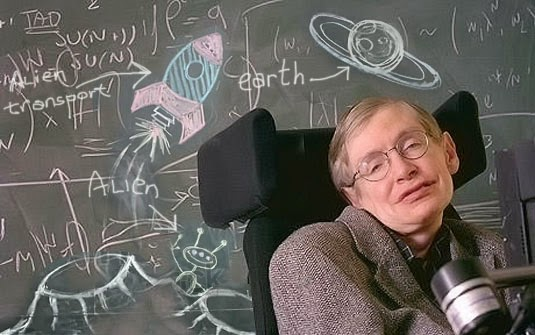 HAWKING WARNS EARTHMEN