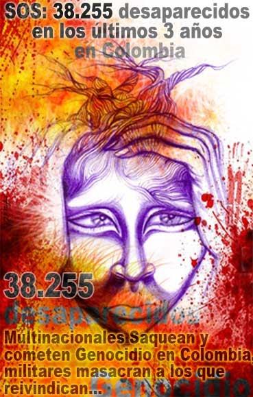38.255 personnes victimes de disparition forcée en 3 ans!