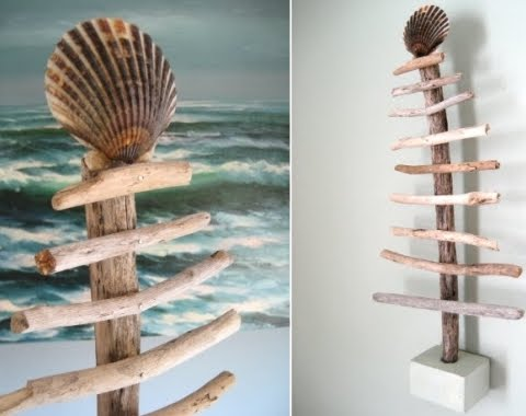 How to Make a Mini Christmas Tree with Wood for Wall or Tabletop ...