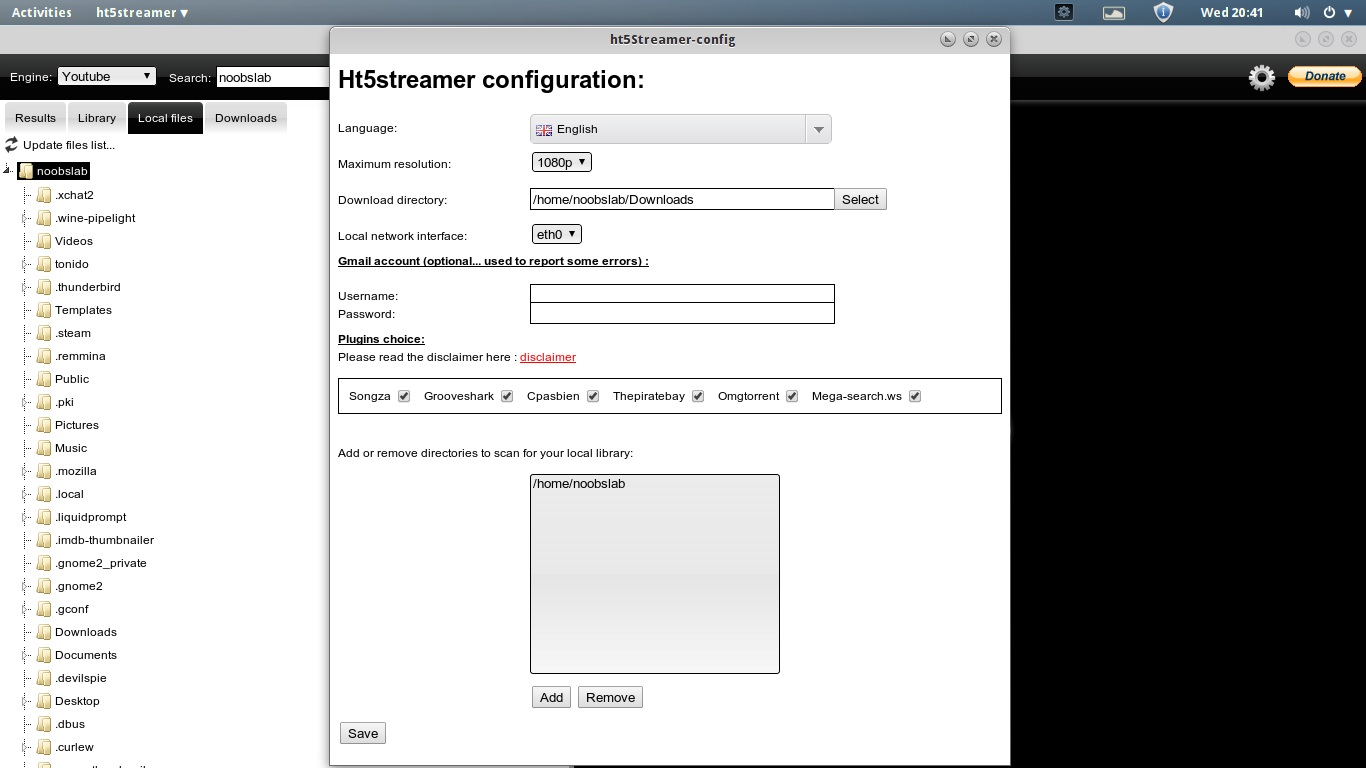 ht5streamer