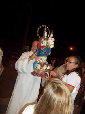 Visita da imagem de Nossa Senhora dos Impossiveis a cidade de Lucrécia - RN