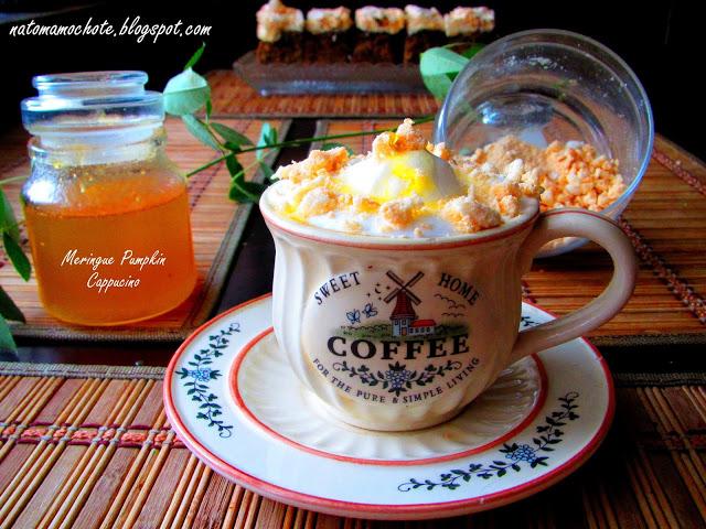 Meringue Pumpkin Cappuccino