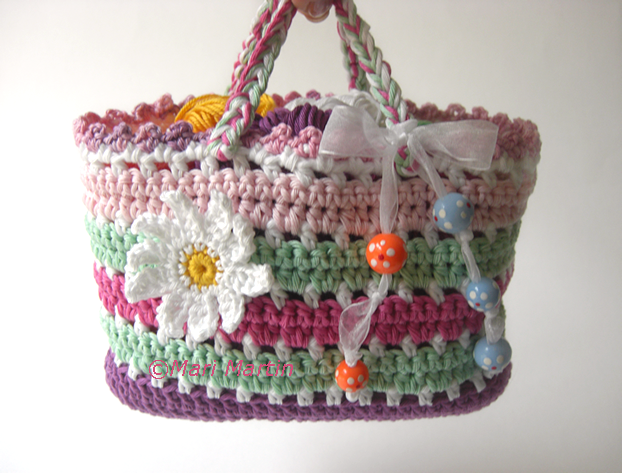 How To Crochet A Bag : Crochet Bag Pattern ~ Crochet Colorful