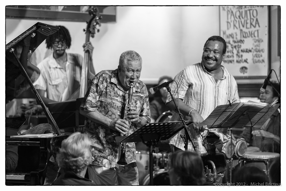 Paquito D'Rivera & The Madriz Project @ Cafe Central, Madrid