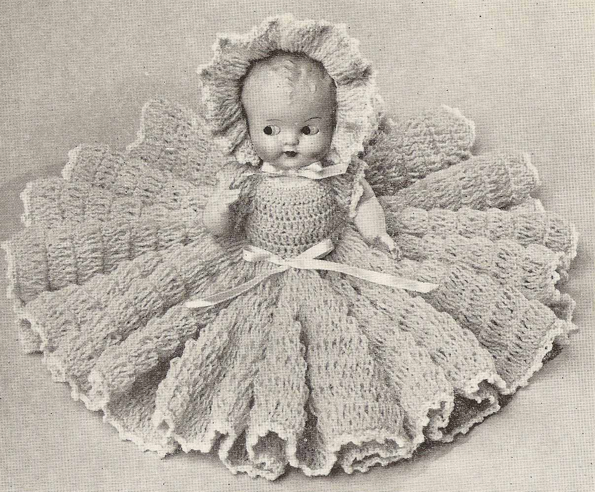 Pattern List - lady_n_thread - Crinoline Lady in Crochet - Book 262