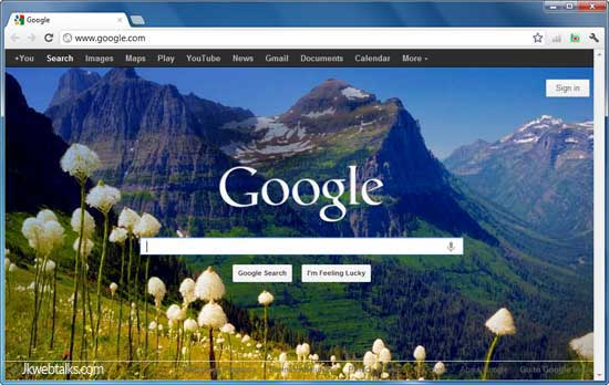 Set google homepage background to bing daily image for Homepage wallpaper