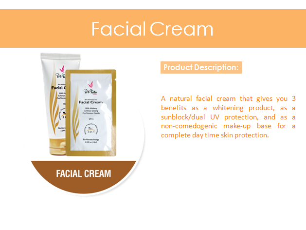 iWhite Facial Cream