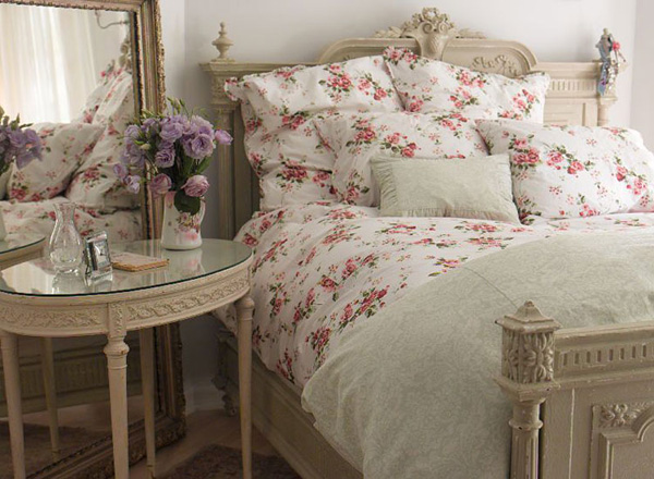 Life In The Countryside Shabby Chic Bedroom
