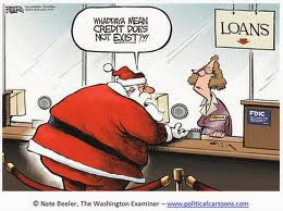 Can we just get Santa a loan?