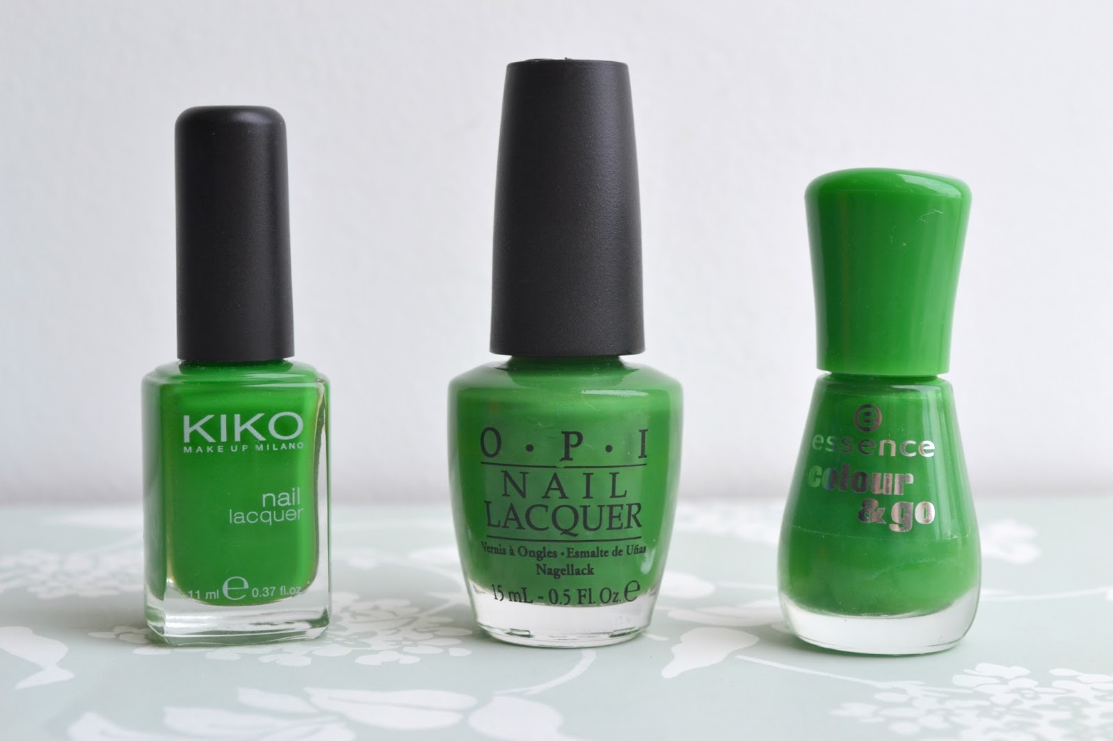 Imogen\'s Typewriter.: Nail Polish Dupes: KIKO Grass Green/ OPI ...