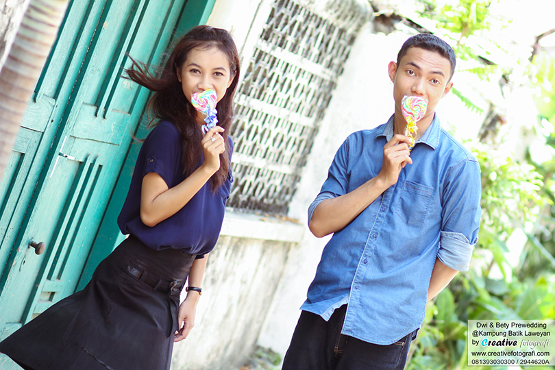 foto prewedding casual lucu