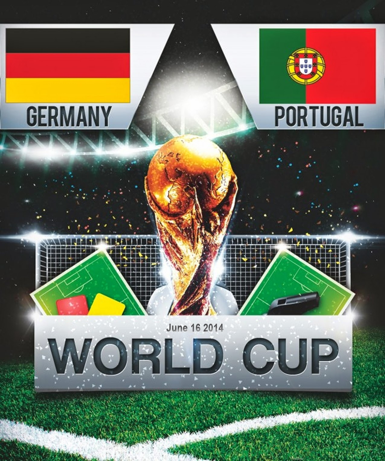 FIFa World Cup 2014 - Germany Vs Portugal