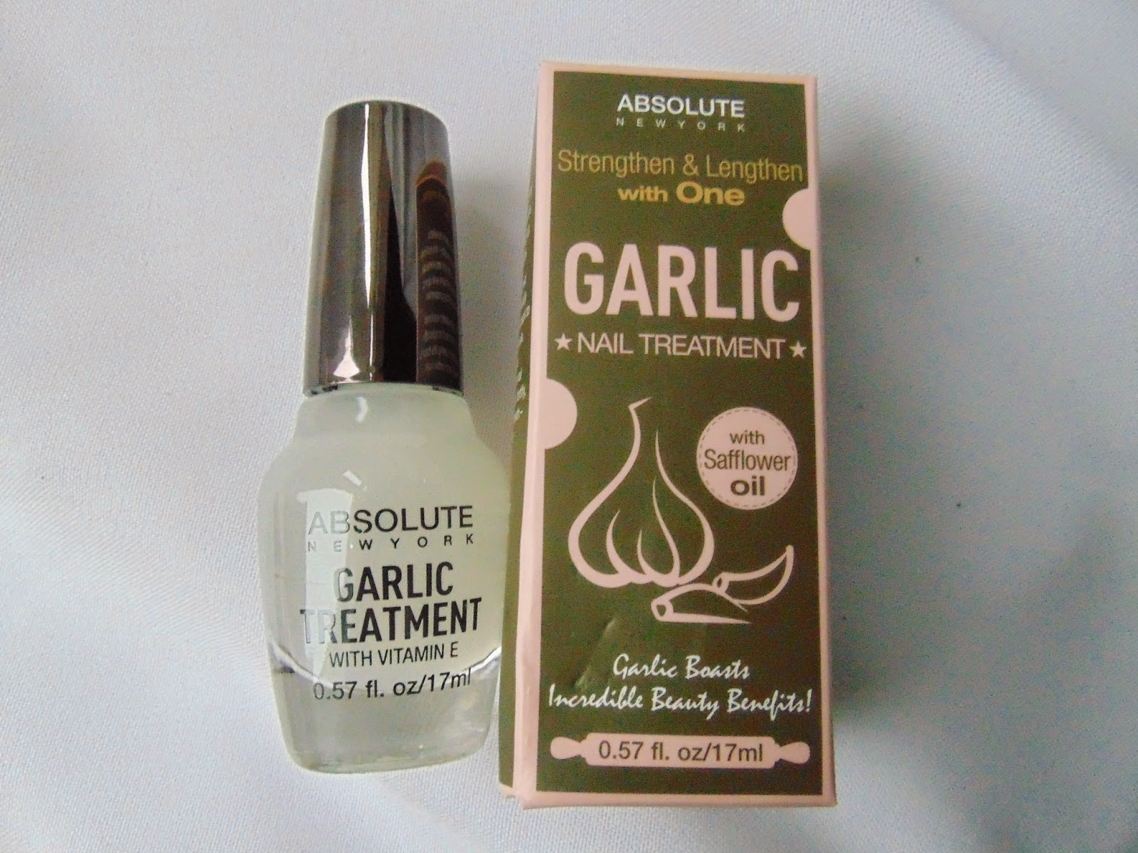Absolute new York - Garlic Nail Treatment - www.annitschkasblog.de