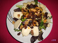 Ensalada de mejillones y palmitos