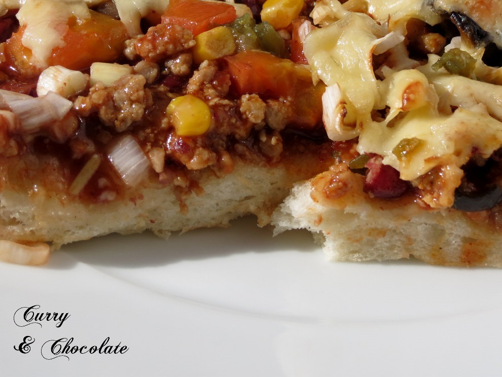 Pizza taco