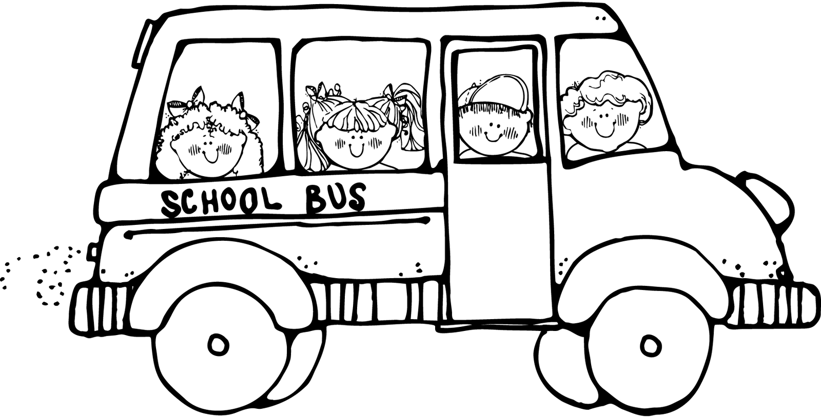 field trip coloring page