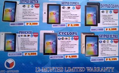 Cherry Mobile Tablet Price List