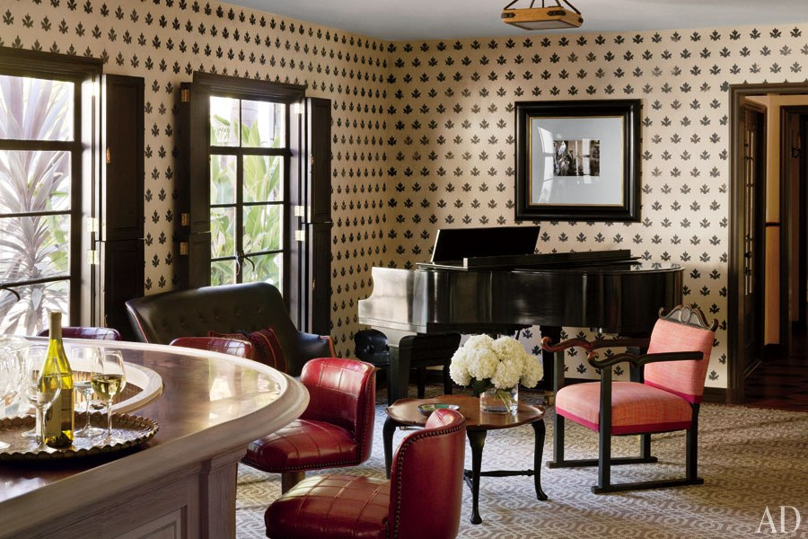 loveisspeed commune restores a los angeles home with a star studded past interior design. Black Bedroom Furniture Sets. Home Design Ideas