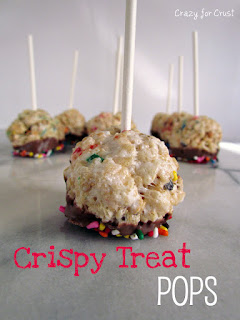Recipe: Crispy treat pops