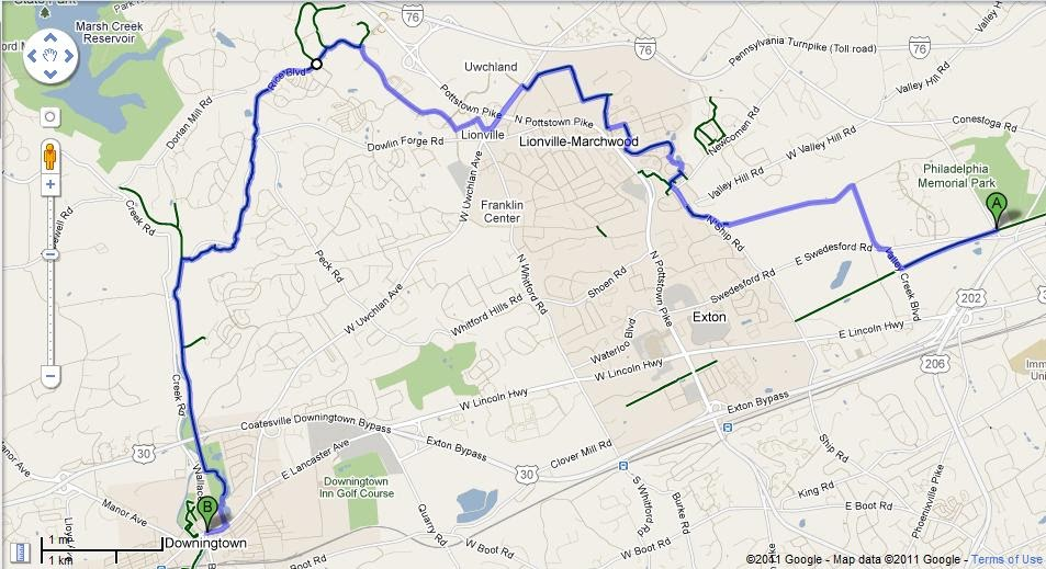 Greater Philadelphia Bicycle News: Exploring the Stuble, Uwchlan and on