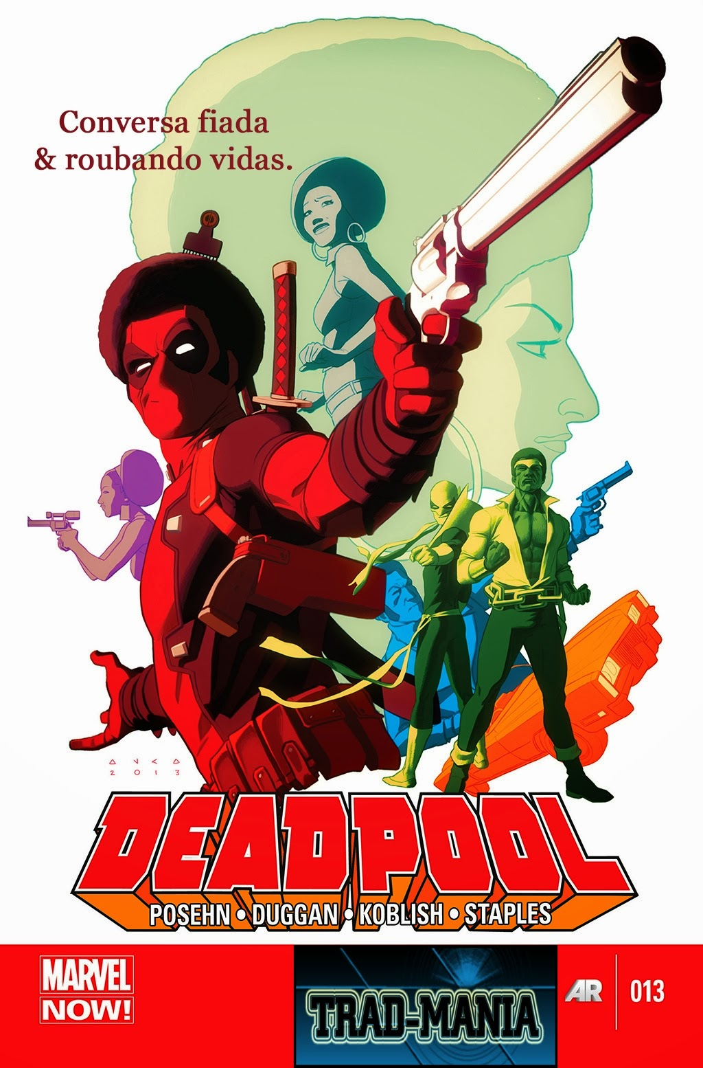 Nova Marvel! Deadpool v5 #13